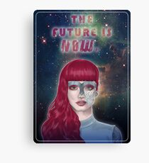 The future is now Canvas Print