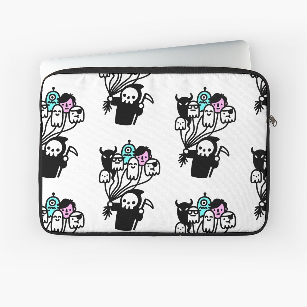 Soul Collector Doodle Laptop Sleeve