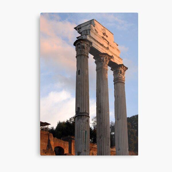 Roman Forum in Late Light Metal Print