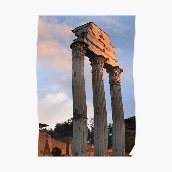 Roman Forum in Late Light Poster