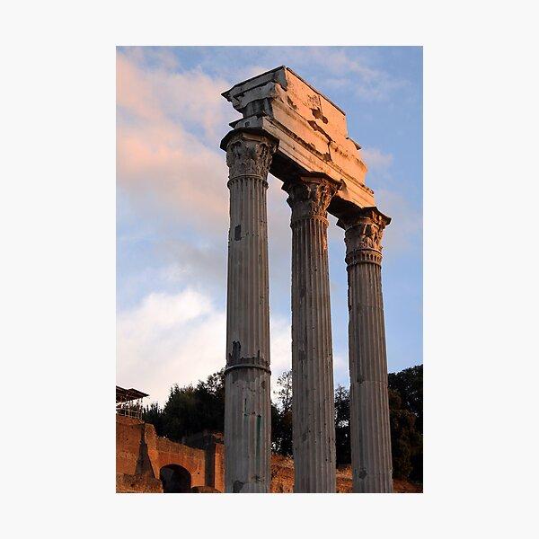 Roman Forum in Late Light Photographic Print
