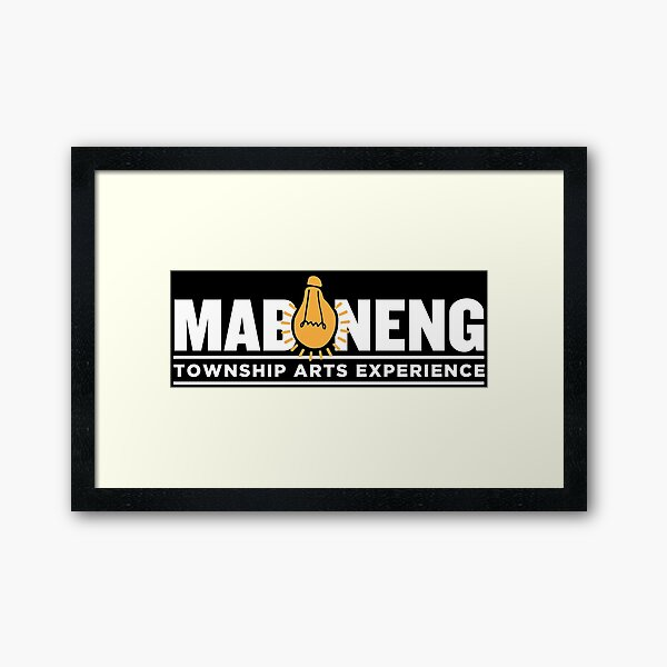 The Maboneng Township Arts Experience Framed Art Print