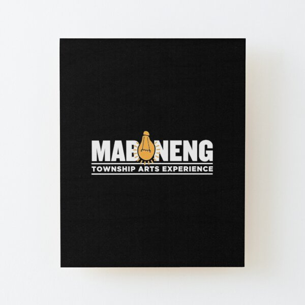 The Maboneng Township Arts Experience Wood Mounted Print