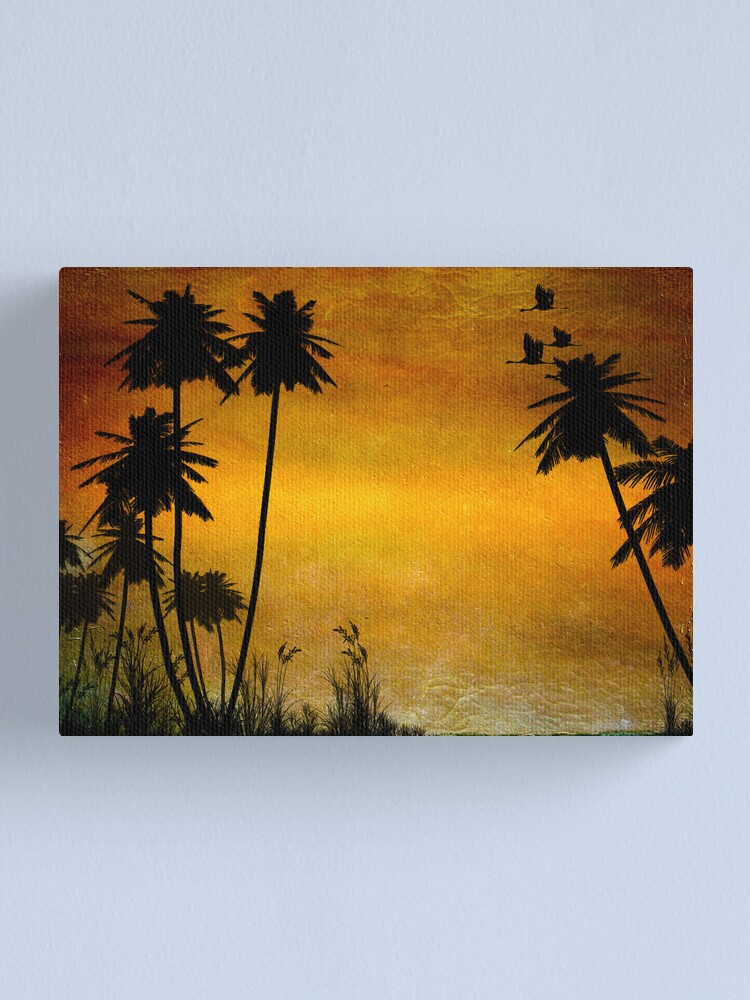 Alternate view of Could Be Paradise Canvas Print