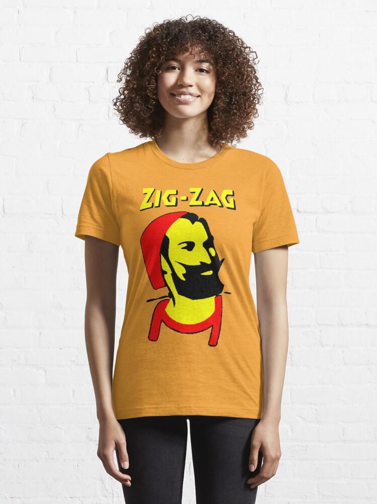 Alternate view of ZIG-ZAG PAPER Essential T-Shirt