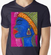 Color Me VIBRANT T-Shirt Mens V-Neck T-Shirt