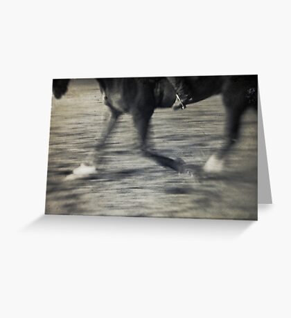 Horse & Rider I Greeting Card