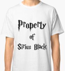 Property of Sirius Black Classic T-Shirt