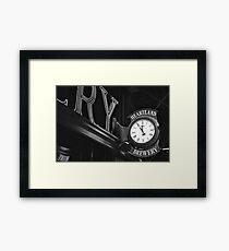 Eleventh Hour  Framed Print