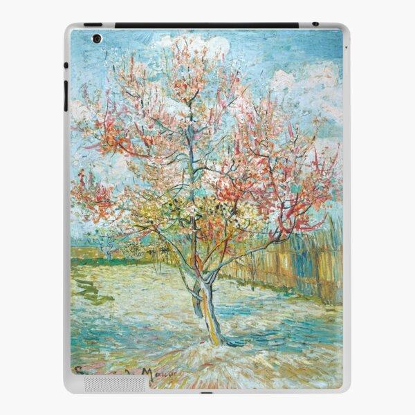 Pink peach trees vincent van gogh iPad Skin