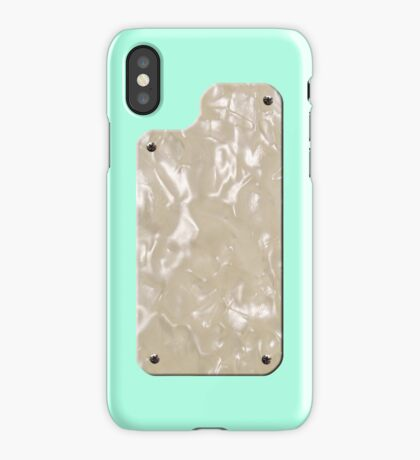Vintage Surf Green with Pearloid iPhone Case/Skin