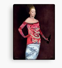 Ready for a softdrink Canvas Print