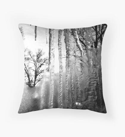 Tears and Trees Throw Pillow