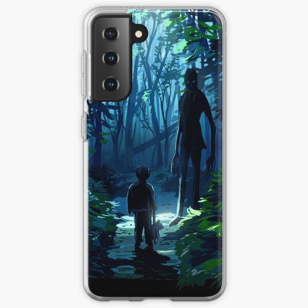 Slender man Samsung Galaxy Soft Case