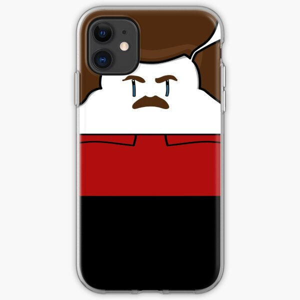 Happy Ron Swanson iPhone Soft Case