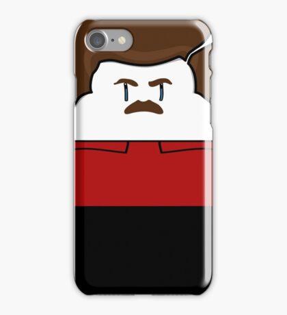 Happy Ron Swanson iPhone Case/Skin