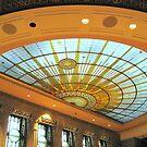 Skylight, Buffalo City Hall by Ray Vaughan