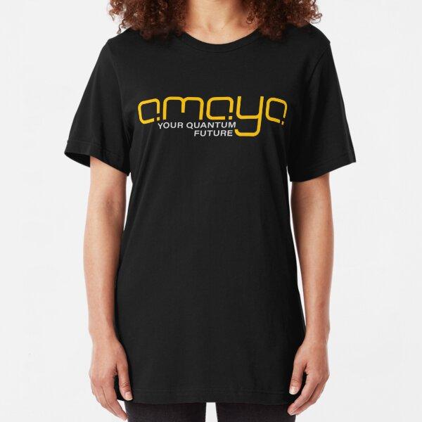 AMAYA logo Slim Fit T-Shirt