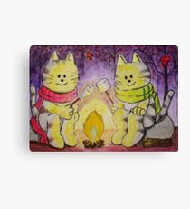 Chilly Night Canvas Print