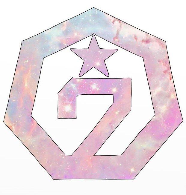 pastel got7 stickers redbubble