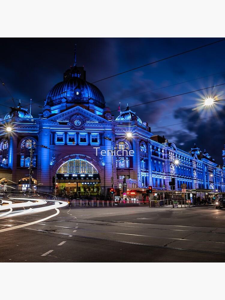 Flinders Street Station, Melbourne by Teniche