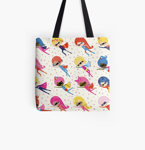 We are all supergirls All Over Print Tote Bag