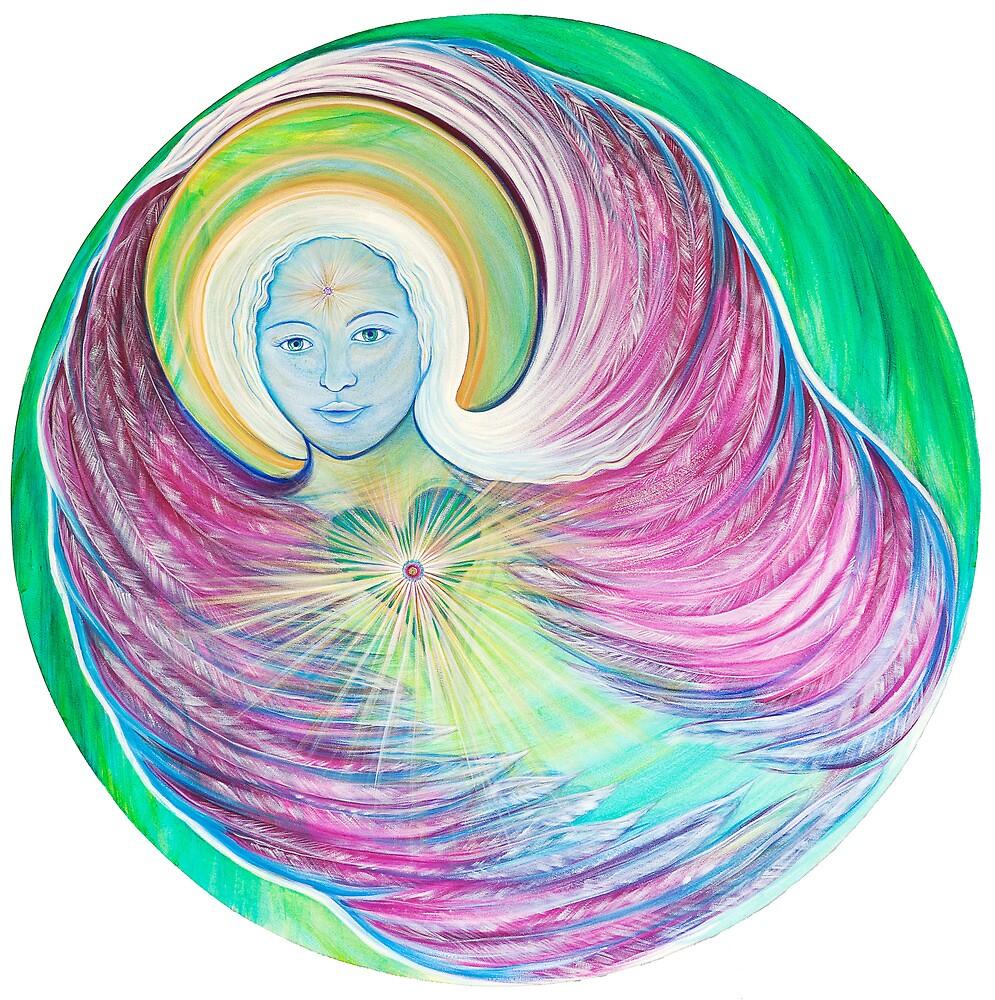 Angel of The Sacred Heart by Marieke Leest
