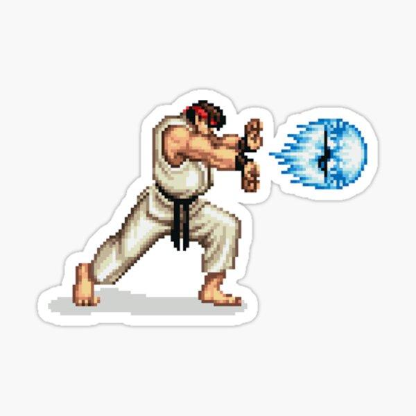 Ryu Hadoken Sticker