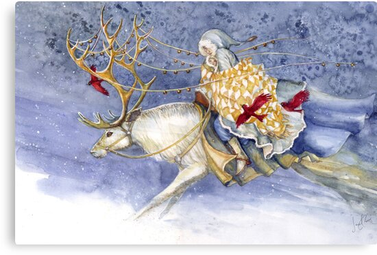 The Winter Changeling by Janet Chui