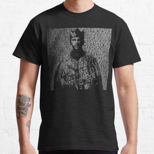 Enjoy The Silence King con letra Camiseta clásica