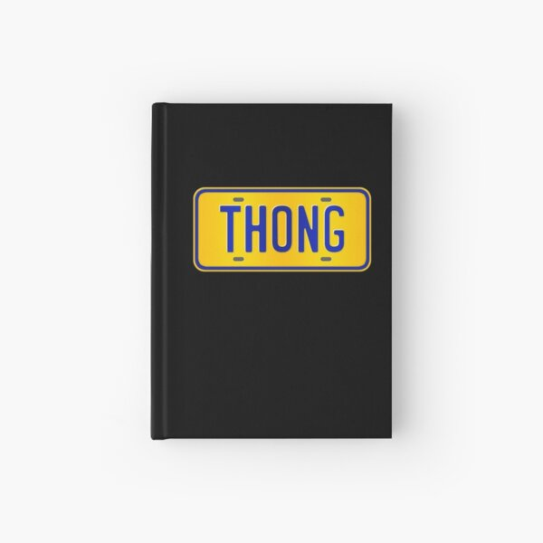 Thong Name -  Thong Name Custom Number Plate Gift For Family Thong Name Hardcover Journal