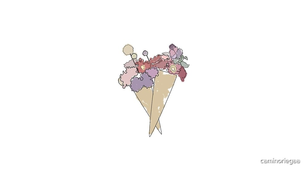 Flower Cone by caminoriegaa