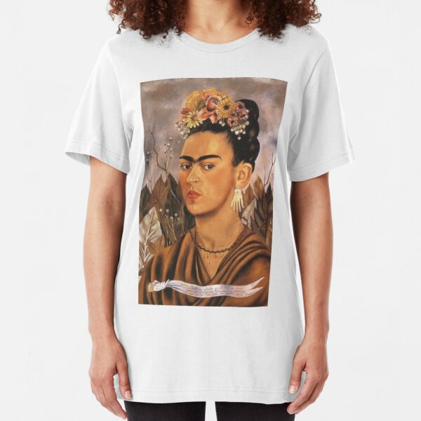 Womens Frida-Kahlo Self-Portrait Long Sleeve Cotton Hoodie Pullover Fashion Shirt Tops