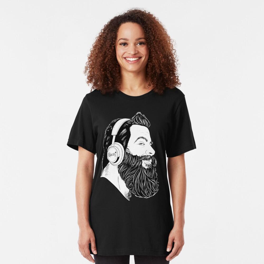 BearBull - B&W Slim Fit T-Shirt