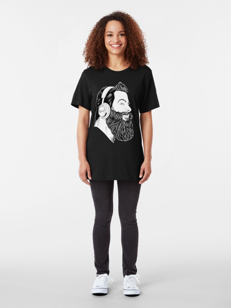 Alternate view of BearBull - B&W Slim Fit T-Shirt