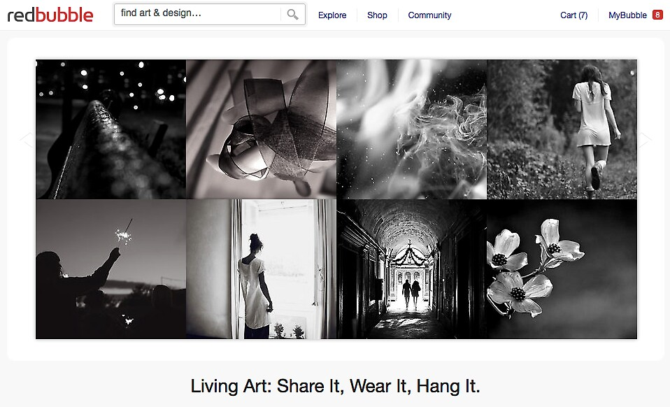 Black and White Life - 21 November 2011 by The RedBubble Homepage