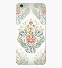 Antique pattern - Beetle and centipedes iPhone Case