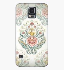 Antique pattern - Beetle and centipedes Case/Skin for Samsung Galaxy