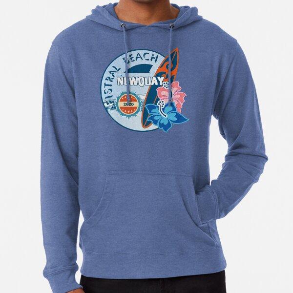 Newquay Fistral Beach 2020 - Beachlife Board Design - T-Shirts, Hoodies Clothing etc Lightweight Hoodie