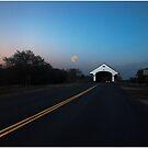 Blood Moon Over Smith Bridge by Wayne King