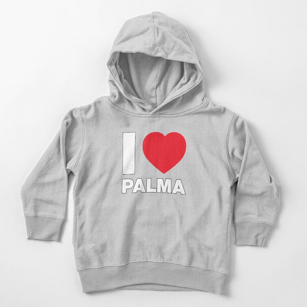 I Love Heart Palma Black Kids Sweatshirt