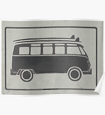 Surf Bus Poster