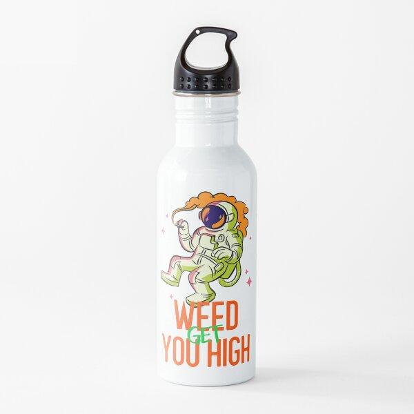 Marijuana Theme Custom Water Bottles
