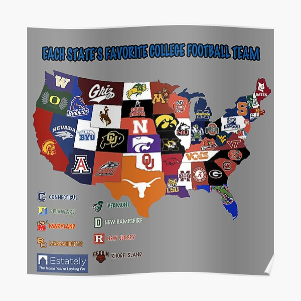 football club map Poster