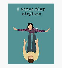 I Wanna Play Airplane Photographic Print
