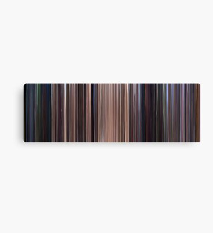 Moviebarcode: Star Wars: Episode I - The Phantom Menace (1999) Canvas Print