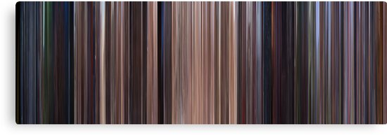 Moviebarcode: Star Wars: Episode I - The Phantom Menace (1999) by moviebarcode