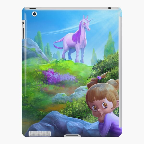 Anais and the Unicorn Funda rígida para iPad