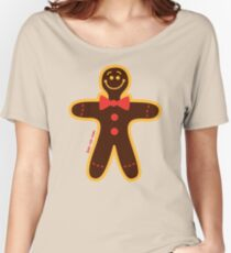 Christmas Cookie Man Women's Relaxed Fit T-Shirt