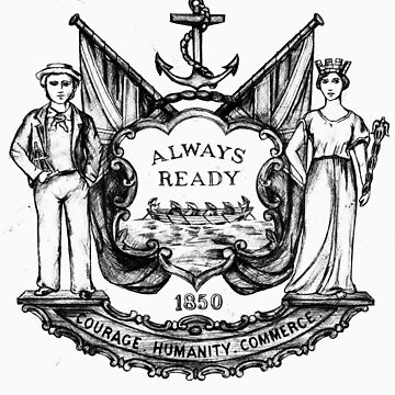 South Shields Coat of Arms by miners